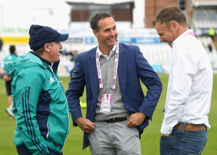 Trevor Bayliss and Michael Vaughan