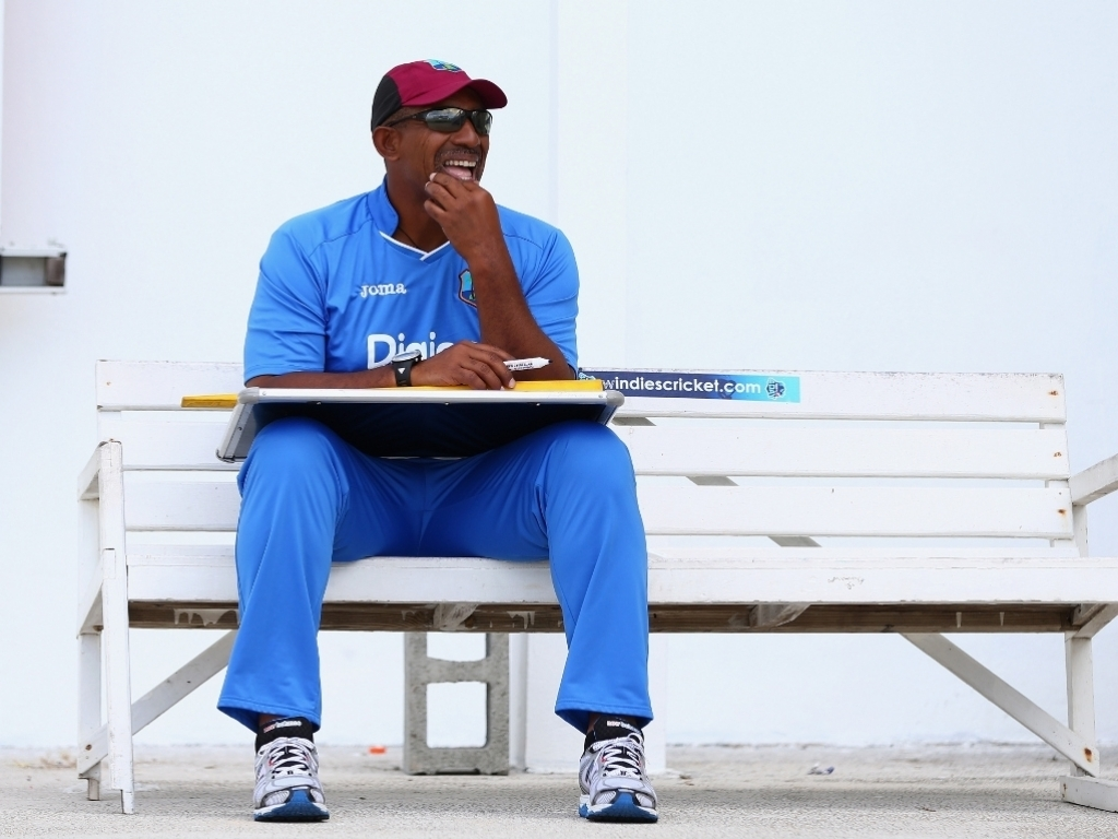 Phil Simmons West Indies head coach